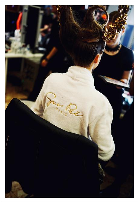 PFW avec MAC Cosmetics  : Guo Pei