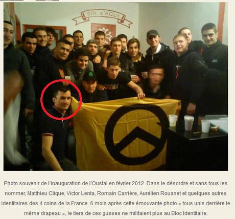 Quand #ERA France Immobilier emploie des petits nazis (mêmes pas néos) au casier bien chargé #antifa