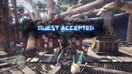 Guide Monster Hunter World investigation
