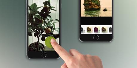 Infltr sur iPhone ajoute nouveau mode de caméra pour réaliser les GIFs