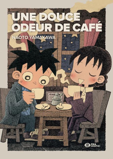 Le manga Une Douce Odeur de Café annoncé chez Pika Graphic