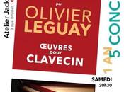 Cinq concerts Louis Couperin avec Olivier Leguay