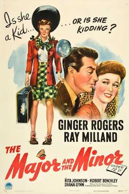 Uniformes et jupon court - The Major and the Minor, Billy ilder (1942)