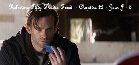 Relecture Fifty Shades Freed - Chapitre 22 - Jour J - 5