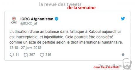 Une semaine d'actualité humanitaire en Tweets #3