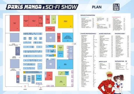 [ Event ] Paris Manga & Sci-Fi Show les 3 & 4 février 2018