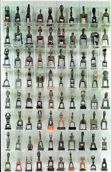 L'artefact africain dans les accumulations d'Arman