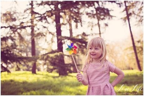 photo enfant en extérieur au naturel