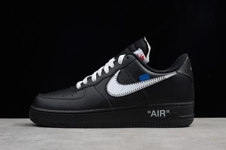 Acheter la Off White x Nike Air Force 1 Black de Virgil Abloh en France