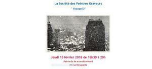 Mairie PARIS 6  La Société des Peintres Graveurs – le 15 Février 2018