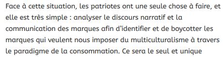 #racisme #xénophobie #islamophobie : l'appel au boycott raciste de Boulevard Voltaire est inacceptable !