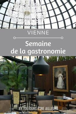 Deux fois par an, les meilleurs restaurants de Vienne proposent des menus à des prix tout doux lors de la Restaurantwoche. http://www.toujoursetreailleurs.com/2018/02/restaurantwoche-vienne-restaurant-gastronomie.html