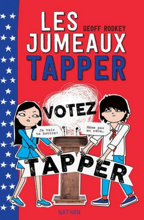 Couverture Les jumeaux Tapper, tome 3 : Votez Tapper