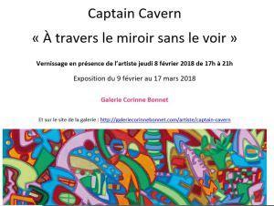 Galerie Corinne BONNET  9 Février au 17 Mars 2018 « A travers le miroir sans le voir »
