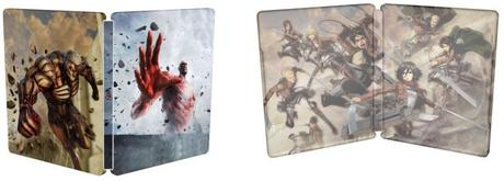 A.O.T.2 steelbook exclusif bonus précommande ps4 xbox one switch2