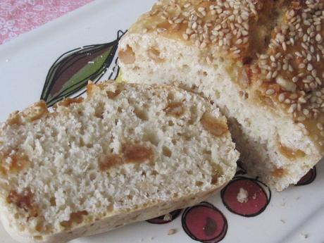 Lazy loaf aux flocons d'avoine ou pain irlandais