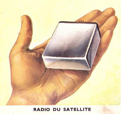 Radio du satellite
