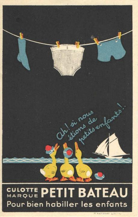 La culotte Petit Bateau fête ses 100 ans