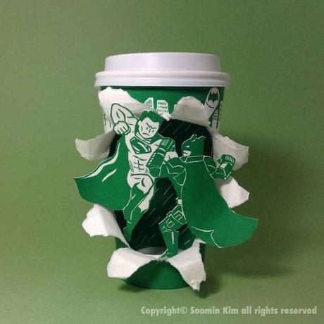 Des références à la pop culture sur les gobelets Starbucks