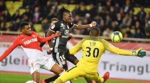 Victoire de l'AS Monaco face à Lyon
