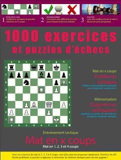 1000 exercices et puzzles d'échecs de Regis Warisse