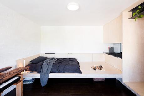 Un micro appartement des années 1950 rénové et totalement repensé