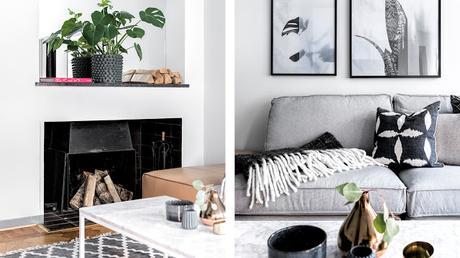 Stockholm / Un appartement de 54 m² bien pensé /