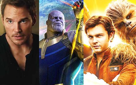 Solo A Star Wars Story, Avengers Infinity War, Jurassic World 2... Les trailers du Super Bowl 2018 !