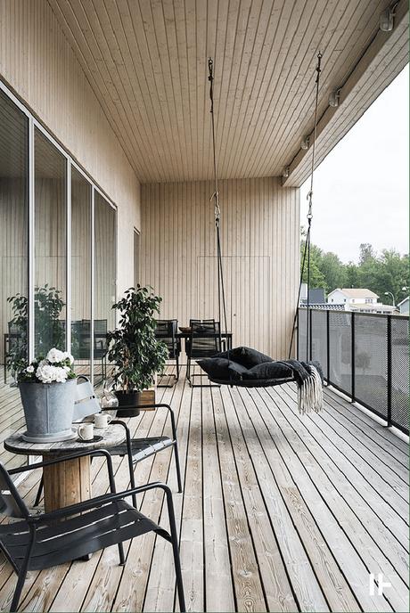 Visite dĂŠco : une maison d'architecte de rĂŞve pour tous les amateurs de bois clair - www.decocrush.fr - @decocrush