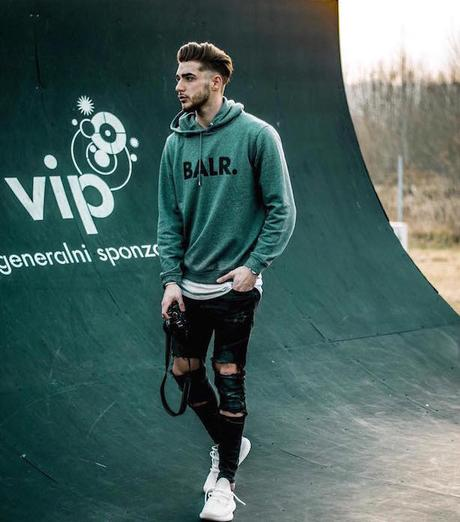 Le style sneaker du jour : Kristijan Lizačić