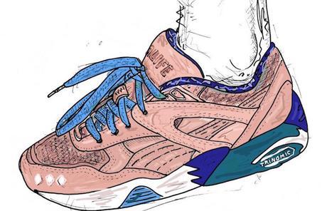 Cet artiste britannique dessine vos sneakers comme jamais !