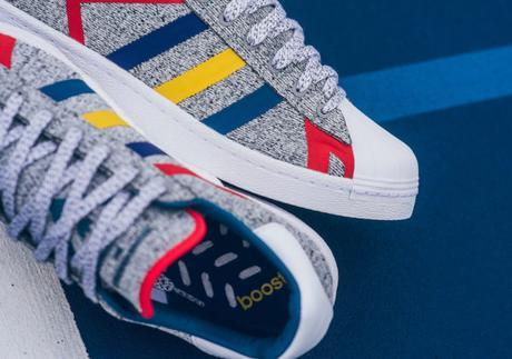 Deux nouveautés avec les Adidas Superstar x White Mountaineering