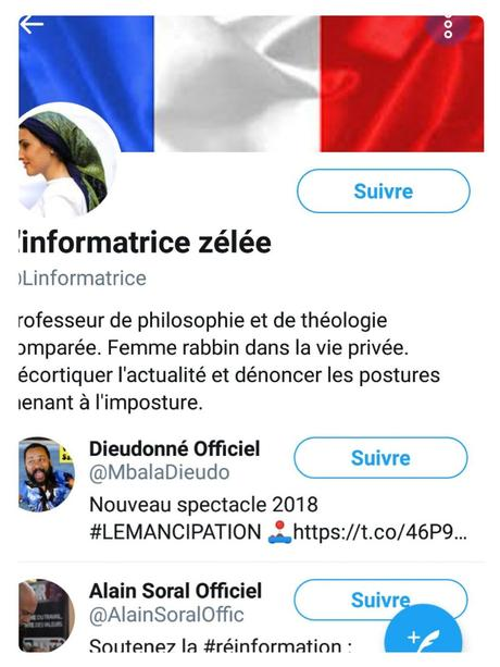 La Complotiste Zélée (pipeautage façon Twitter)