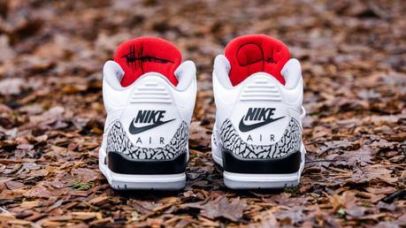 JTH x Air Jordan 3 White