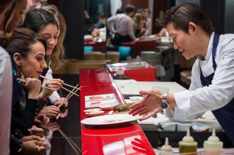 Le Royal Monceau lance les «Sushi Class» au sein de son restaurant Matsuhisa Paris