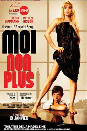 Les nuits de Bardot et Gainsbourg au théâtre ! A voir !
