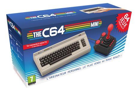 Le Commodore 64 version Mini débarque le 29 mars