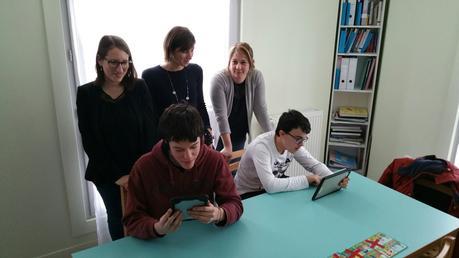 Fondation #Orange - Le numérique au Diapason pour des enfants autistes a #Dieppe (76) avec le #SESSAD