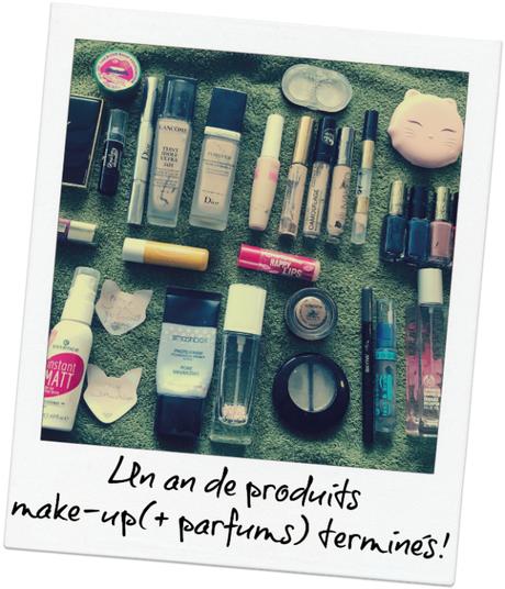 [Vidéo] Bilan de tous les produits make-up terminés en 2017!