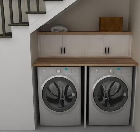 20 astuces pour am nager un dessous d escalier. Black Bedroom Furniture Sets. Home Design Ideas