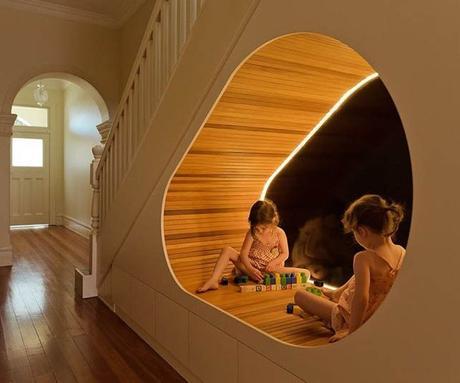 20 astuces pour aménager un dessous d'escalier espace jeu