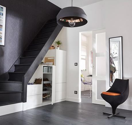 20 astuces pour aménager un dessous d'escalier placard à chaussures