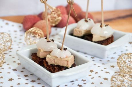 Bouchées au foie gras