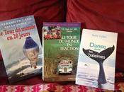 Trois livres pour voyager depuis canapé