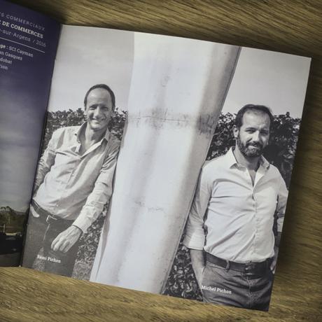 Portrait de Rémi et Michel Pichon