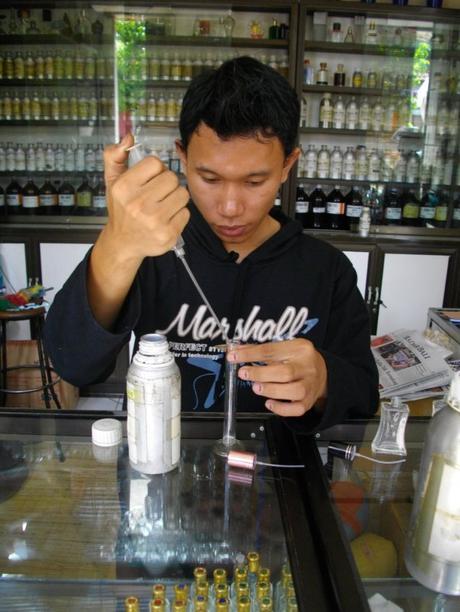 Le parfumeur de Peliatan : Aroma Bali