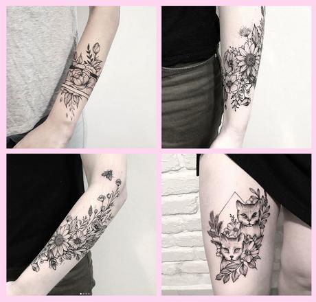 Tatouage Femme : 5 tatoueuses à suivre