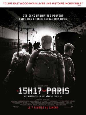 Le 15h17 pour Paris (2018) de Clint Eastwood