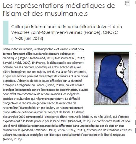 Comment ? Un colloque sur l'#islamophobie !? La secte à Bouvet en PLS  #republicanistes