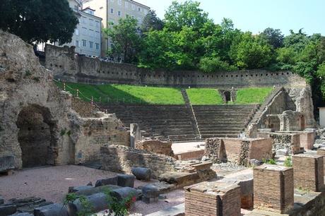 trieste vestiges romains antiquité amphithéâtre